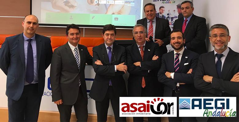 union de asaicor a AEGI Andalucía